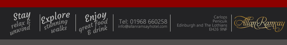 Thanks for visiting The Allan Ramsay Hotel