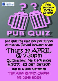April's Pub Quiz